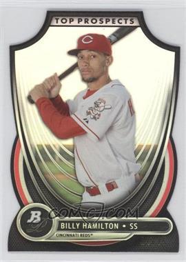 2013 Bowman Platinum - Top Prospects - Die-Cut #TP-BH - Billy Hamilton /25