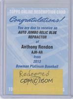 Anthony Rendon /199 [REDEMPTIONBeingRedeemed]