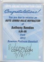Anthony Rendon [REDEMPTIONBeingRedeemed]
