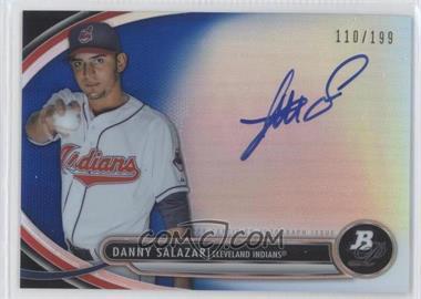 2013 Bowman Platinum Autographed Prospects Blue Refractor #BPAP-DS - Danny Salazar /199
