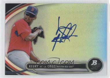 2013 Bowman Platinum Autographed Prospects #BPAP-KD - Keury De La Cruz