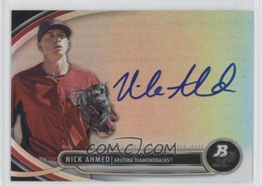 2013 Bowman Platinum Autographed Prospects #BPAP-NA - Nick Ahmed