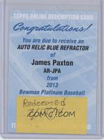 James Paxton /199 [REDEMPTION Being Redeemed]