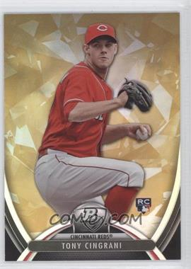 2013 Bowman Platinum Gold #62 - Tony Cingrani