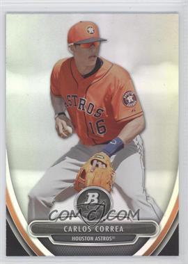 2013 Bowman Platinum Prospects #BPP23 - Carlos Correa