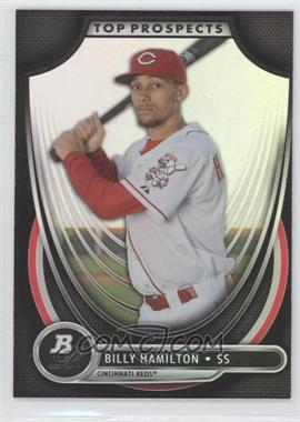 2013 Bowman Platinum Top Prospects #TP-BH - Billy Hamilton