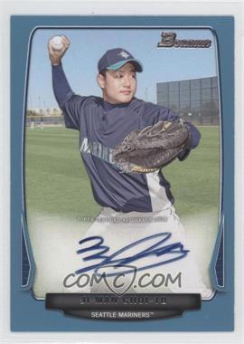 2013 Bowman Prospect Autographs Retail Blue #BPA-JC - Ji-Man Choi /500