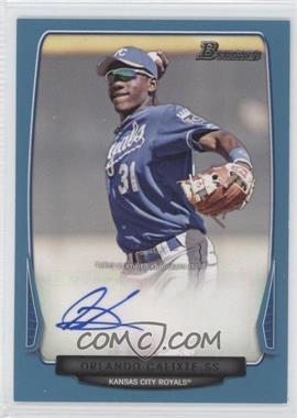 2013 Bowman Prospect Autographs Retail Blue #BPA-OC - Orlando Calixte /500