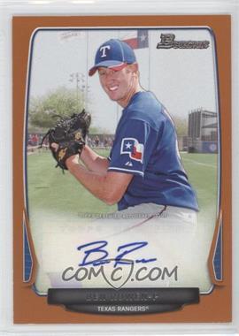 2013 Bowman Prospect Autographs Retail Orange #BPA-BR - Ben Rowen /250