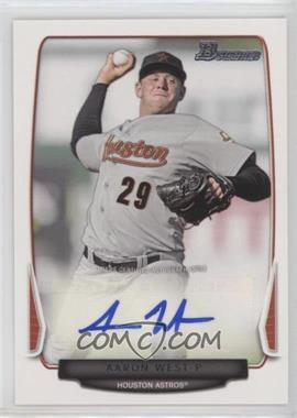 2013 Bowman Prospect Autographs Retail #BPA-AW - Aaron West