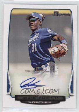 2013 Bowman Prospect Autographs Retail #BPA-OC - Orlando Calixte