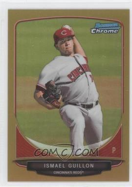 2013 Bowman Prospects Chrome Gold Refractor #BCP33 - Ismael Guillon /50
