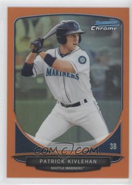 2013 Bowman Prospects Chrome Orange Refractor #BCP92 - Patrick Kivlehan /25