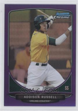 2013 Bowman Prospects Chrome Purple Refractor #BCP113 - Addison Russell /199