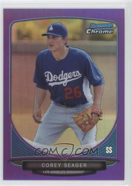 2013 Bowman Prospects Chrome Purple Refractor #BCP125 - Corey Seager /199