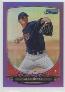 2013 Bowman Prospects Chrome Purple Refractor #BCP80 - Alex Meyer /199