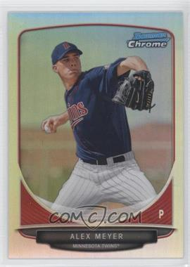2013 Bowman Prospects Chrome Refractor #BCP80 - Alex Meyer /500