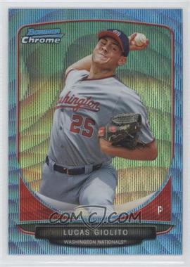 2013 Bowman Prospects Chrome Wrapper Redemption Blue Wave Refractor #BCP5 - Lucas Giolito