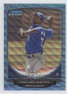 2013 Bowman Prospects Chrome Wrapper Redemption Blue Wave Refractor #BCP60 - Yordano Ventura