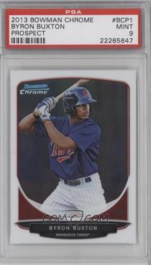 2013 Bowman Prospects Chrome #BCP1 - Byron Buxton [PSA9]