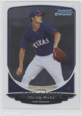2013 Bowman Prospects Chrome #BCP12 - Collin Wiles