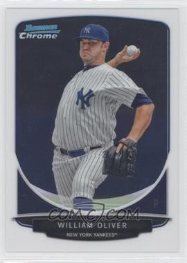2013 Bowman Prospects Chrome #BCP89 - William Oliver