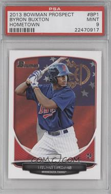 2013 Bowman Prospects Hometown #BP1 - Byron Buxton [PSA 9]