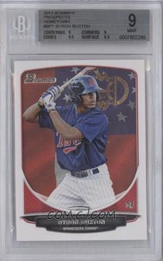 2013 Bowman Prospects Hometown #BP1 - Byron Buxton [BGS 9]