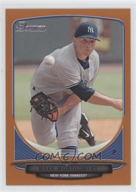 2013 Bowman Prospects Orange #BP3 - Mark Montgomery /250