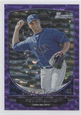 2013 Bowman Prospects Purple Ice #BP49 - Patrick Leonard /10