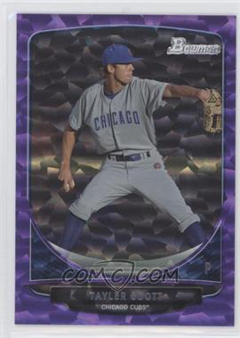 2013 Bowman Prospects Purple Ice #BP8 - Tayler Scott /10
