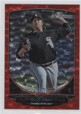 2013 Bowman Prospects Red Ice #BP55 - Todd Kibby /25