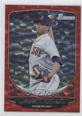 2013 Bowman Prospects Red Ice #BP59 - William Cuevas /25