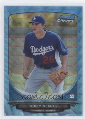 2013 Bowman Prospects Wrapper Redemption Chrome Blue Wave Refractor #BCP125 - Corey Seager