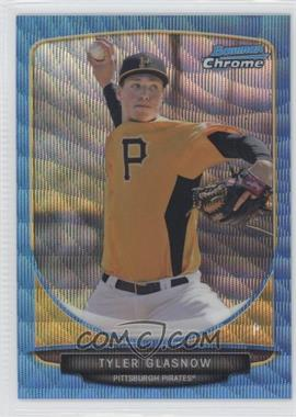 2013 Bowman Prospects Wrapper Redemption Chrome Blue Wave Refractor #BCP134 - Tyler Glasnow