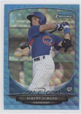 2013 Bowman Prospects Wrapper Redemption Chrome Blue Wave Refractor #BCP206 - Albert Almora