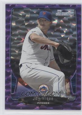 2013 Bowman Purple Ice #2 - Jonathon Niese /10