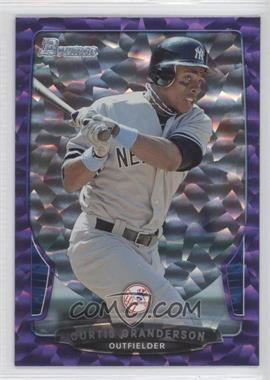 2013 Bowman Purple Ice #37 - Curtis Granderson /10