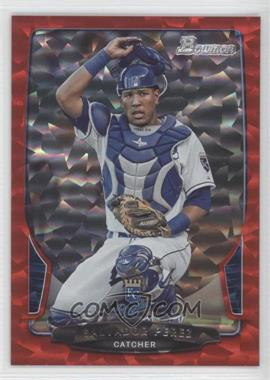 2013 Bowman Red Ice #103 - Salvador Perez /25