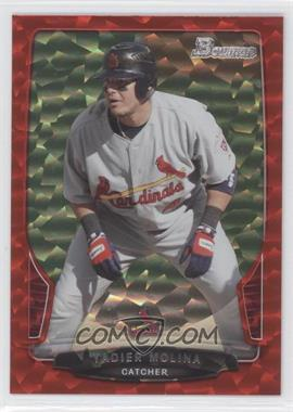 2013 Bowman Red Ice #106 - Yadier Molina /25