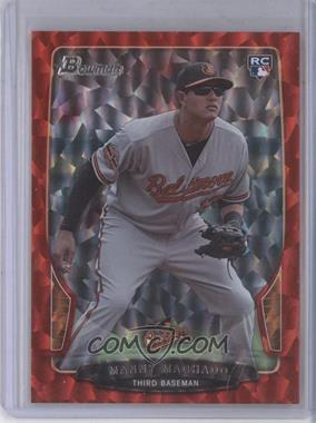2013 Bowman Red Ice #215 - Manny Machado /25