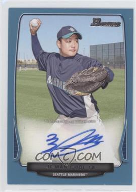 2013 Bowman Retail Prospect Autographs Blue #BPA-JC - Ji-Man Choi /500