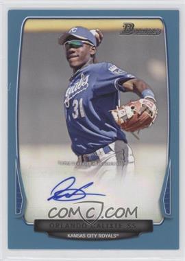 2013 Bowman Retail Prospect Autographs Blue #BPA-OC - Orlando Calixte /500