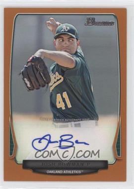 2013 Bowman Retail Prospect Autographs Orange #BPA-JB - Josh Bowman /250