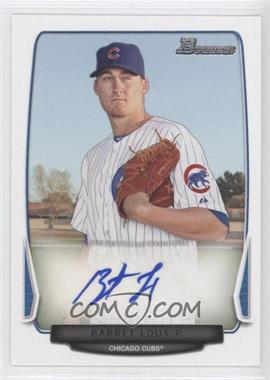 2013 Bowman Retail Prospect Autographs #BPA-BL - Barret Loux