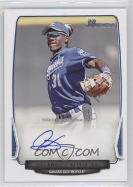 2013 Bowman Retail Prospect Autographs #BPA-OC - Orlando Calixte