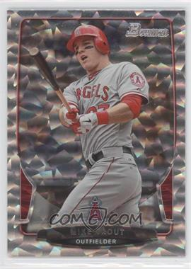 2013 Bowman Silver Ice #121 - Mike Trout