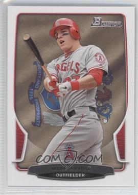 2013 Bowman State & Home Town #121 - Mike Trout