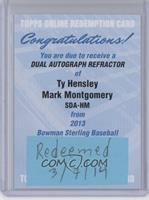 Ty Hensley, Mark Montgomery /35 [REDEMPTIONBeingRedeemed]