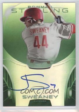 2013 Bowman Sterling - Prospect Certified Autographs - Green Refractors #BSAP-JSW - Jake Sweaney /125